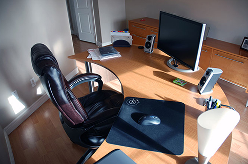 میز کار بخش طراحی وب سایت یکویک
